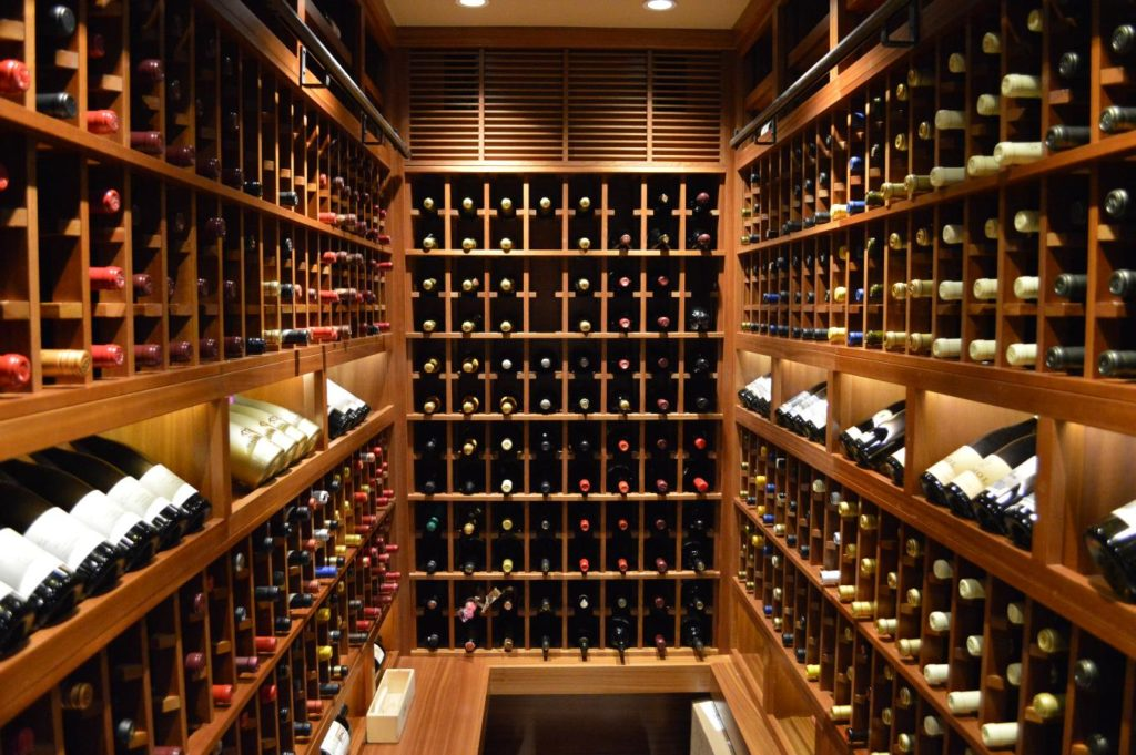Contemporay Wine Cellar Design Los Angeles California Master