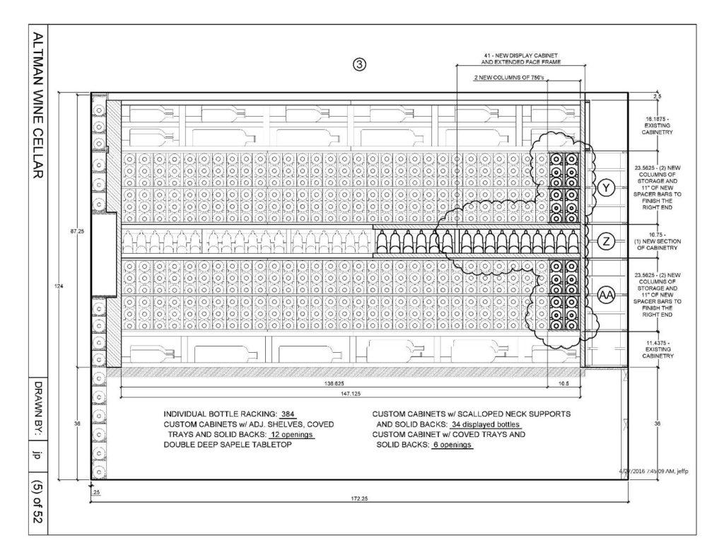 Custom-Wine-Cellar-Drawing-Houston-Extension-Project_Elevation-3-1024x792
