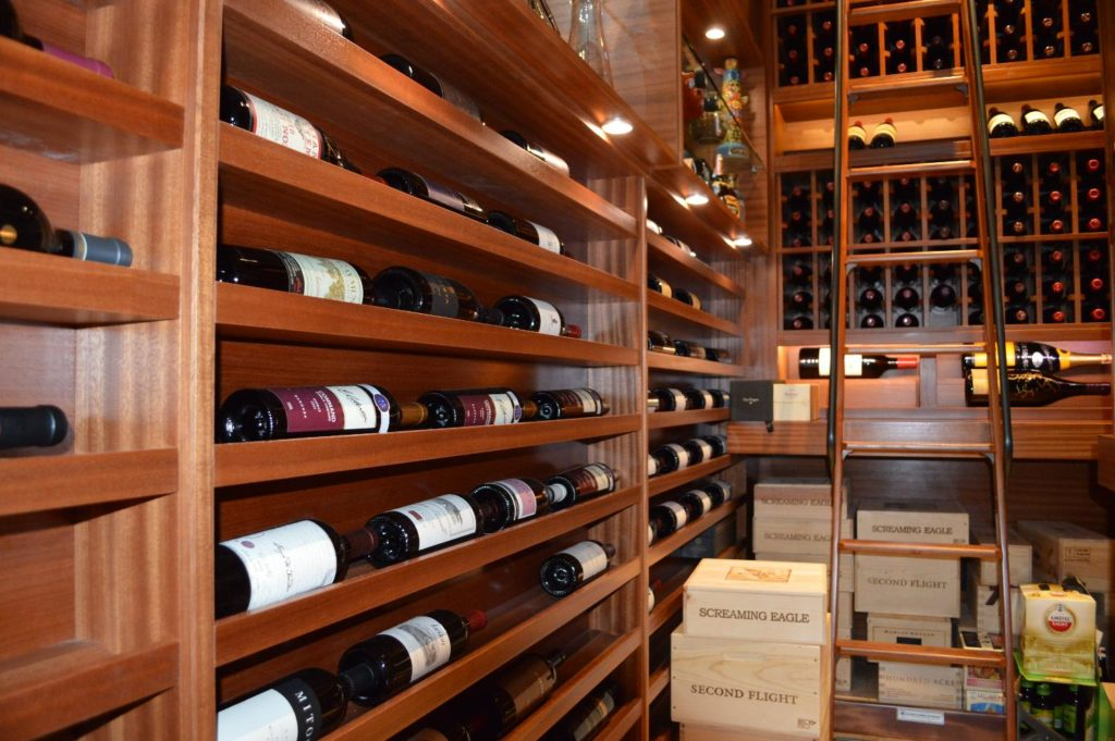 Residential Wine Cellar Extension Project Houston 1024x681