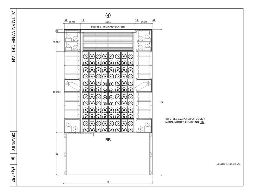 Wine-Rack-Design-Houston-Builders_Elevation-4-1024x791