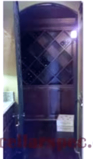 Before Photo of Wine Cellars Dallas Texas Project