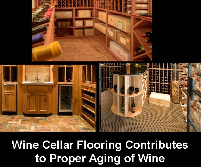 Texas Wine Cellar Flooring Options