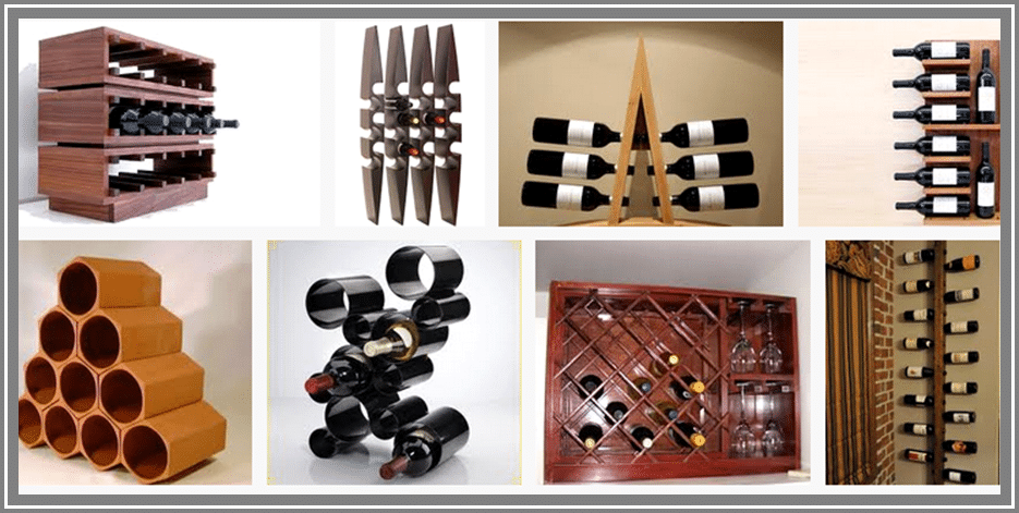 a good wine rack is an essential part of proper wine storage - Metal Wine Rack