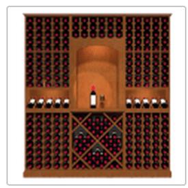 KED3 Kessick Wine Rack