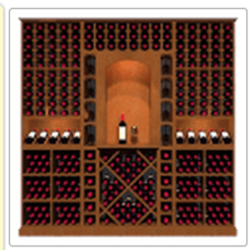 KED4 Kessick Wine Rack