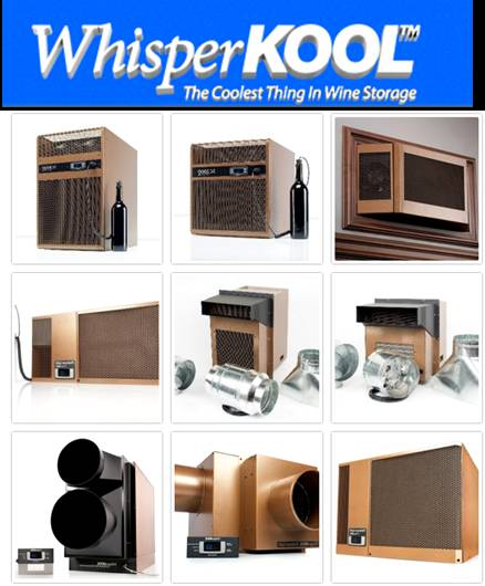 WhisperKOOL Wine Cellar Cooling Units