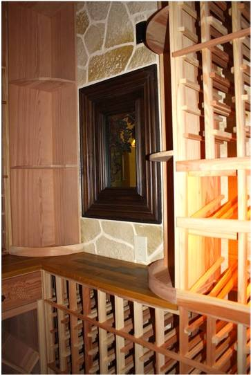 Custom wine cellars houston beautiful custom wine cellars by houston specialist builders - Types of beautiful wine racks for your home ...