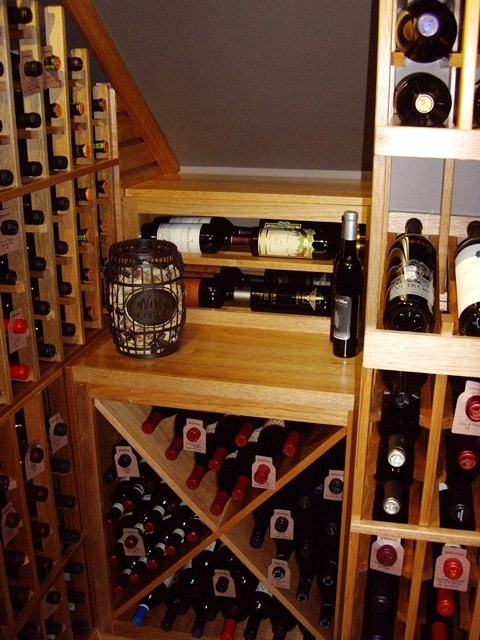 wooden wine racks Houston