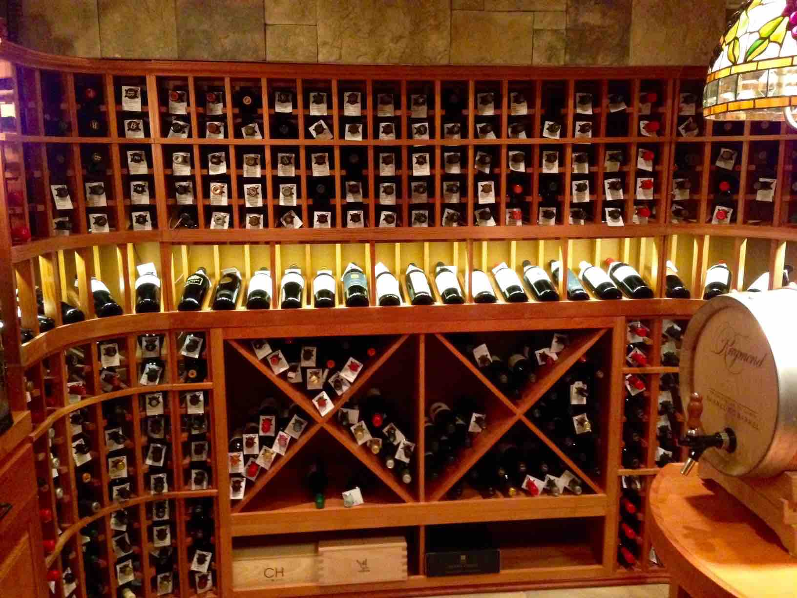 Build a wine cellar in your houston home basement - Small space wine racks design ...