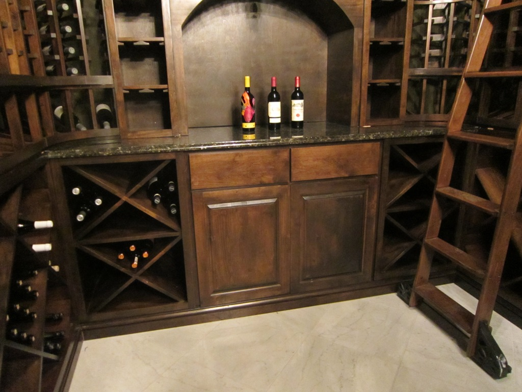 Wine Cellar Rack Features Houston
