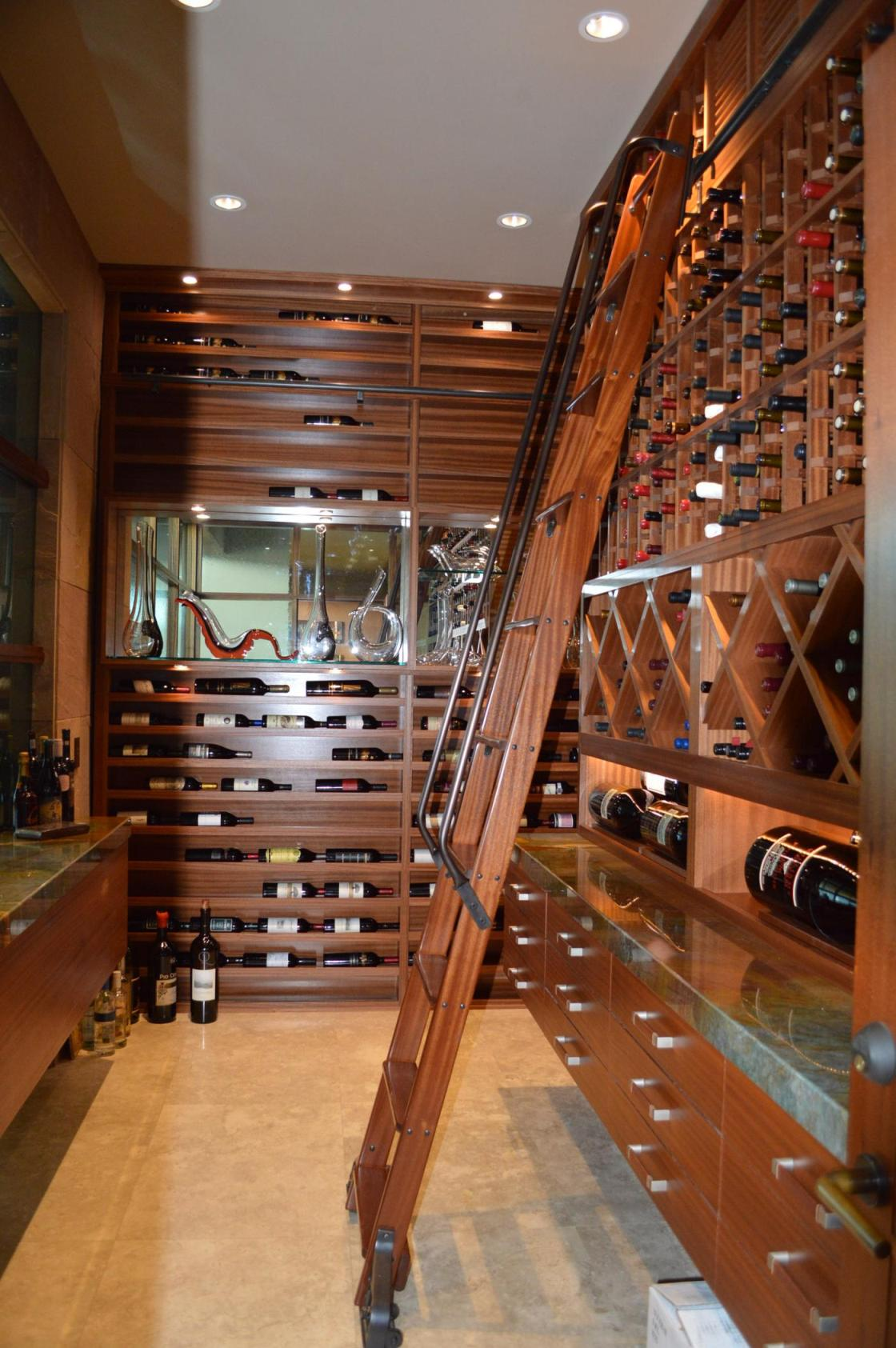 Wine Rack Design Houston