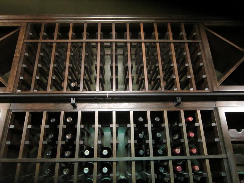 Knotty Alder Wine Racks