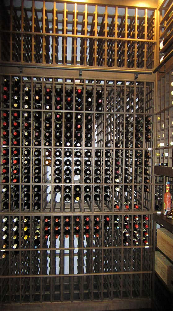 Custom Wine Cellar Racks Houston Project
