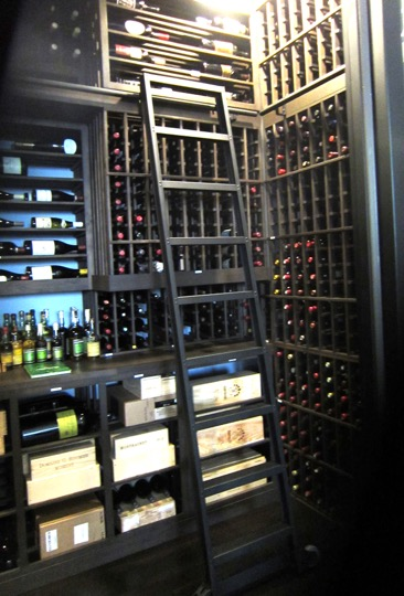 Refrigerated Custom Home Wine Cellar Houston