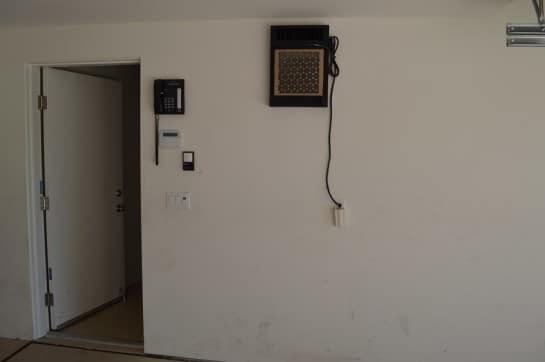 Original Room Before Custom Wine Cellar Construction Residential Home Houston