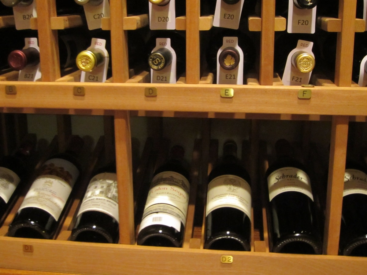 Wooden Wine Racks with High Reveal Display Row