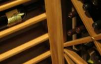Lower Left Corner Wine Rack Design Houston