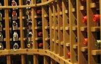Right Wall True Radius Corner Wine Rack
