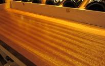 Tabletop Houston Staircase Custom Wine Cellar