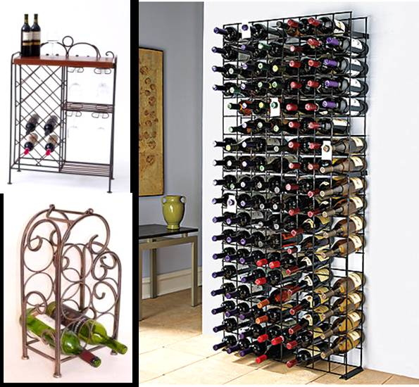 Texas Metal Wine Racks Enhance The Beauty Of Your