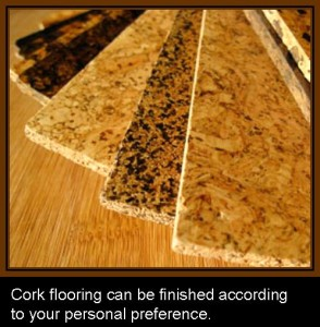 CORK FLOORING FINISHES