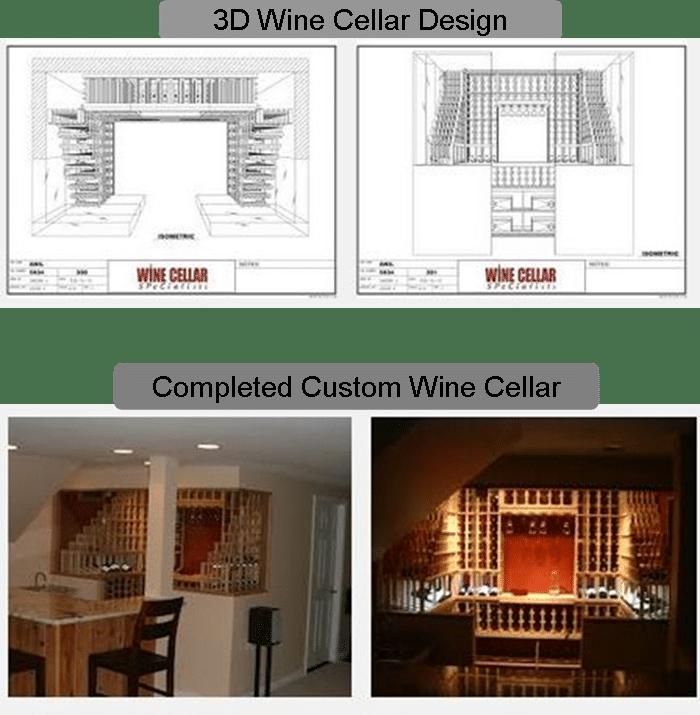 Custom Wine Cellar Houston Designer and Builder