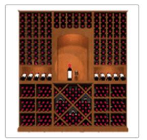 KED2 Kessick Wine Rack