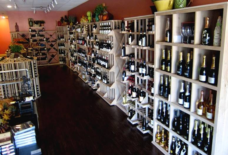 Wine Down wine cellar