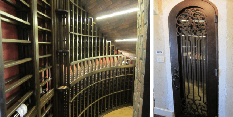 US Cellars and WIne Cellar Spec