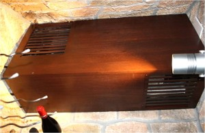 wine cellar cooling system WCS