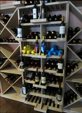 2 Column Retail Stack Wine Rack