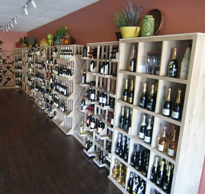 Newly Completed Remodeling of a Texas Commercial Wine Store