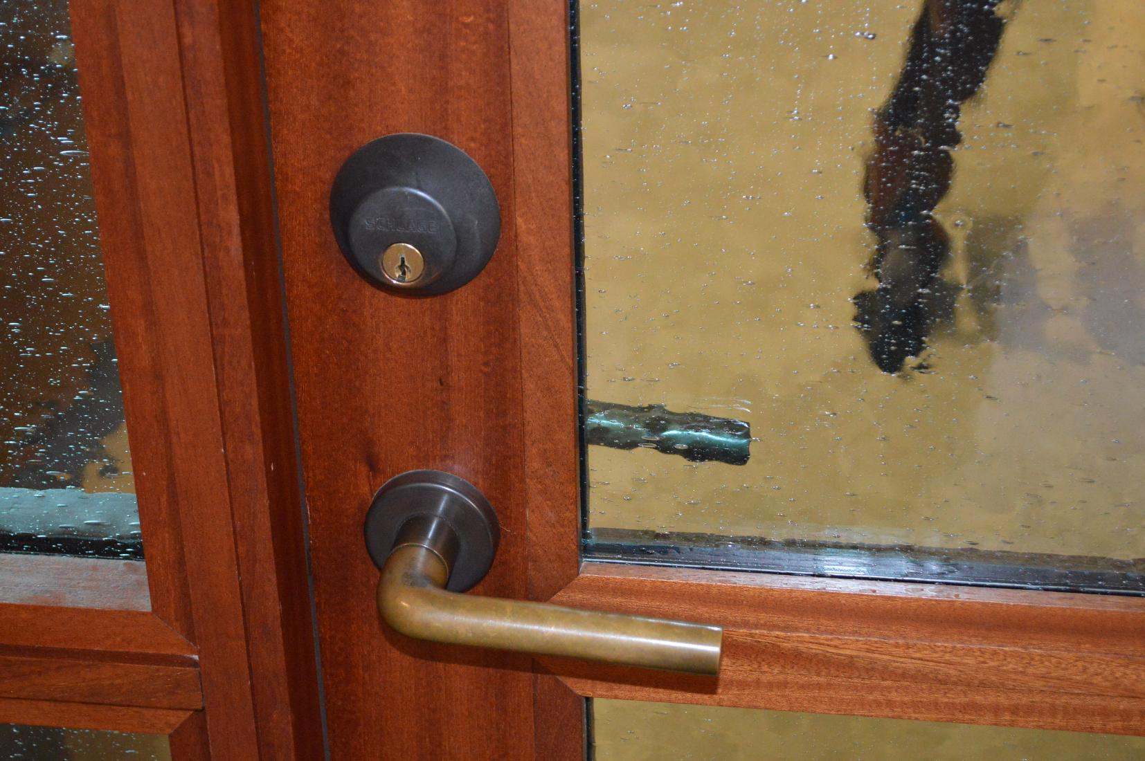 Custom Wine Cellar Door Houston Texas Installation