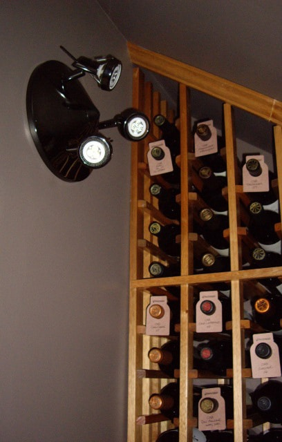 LED Track Wine Cellar Lighting System
