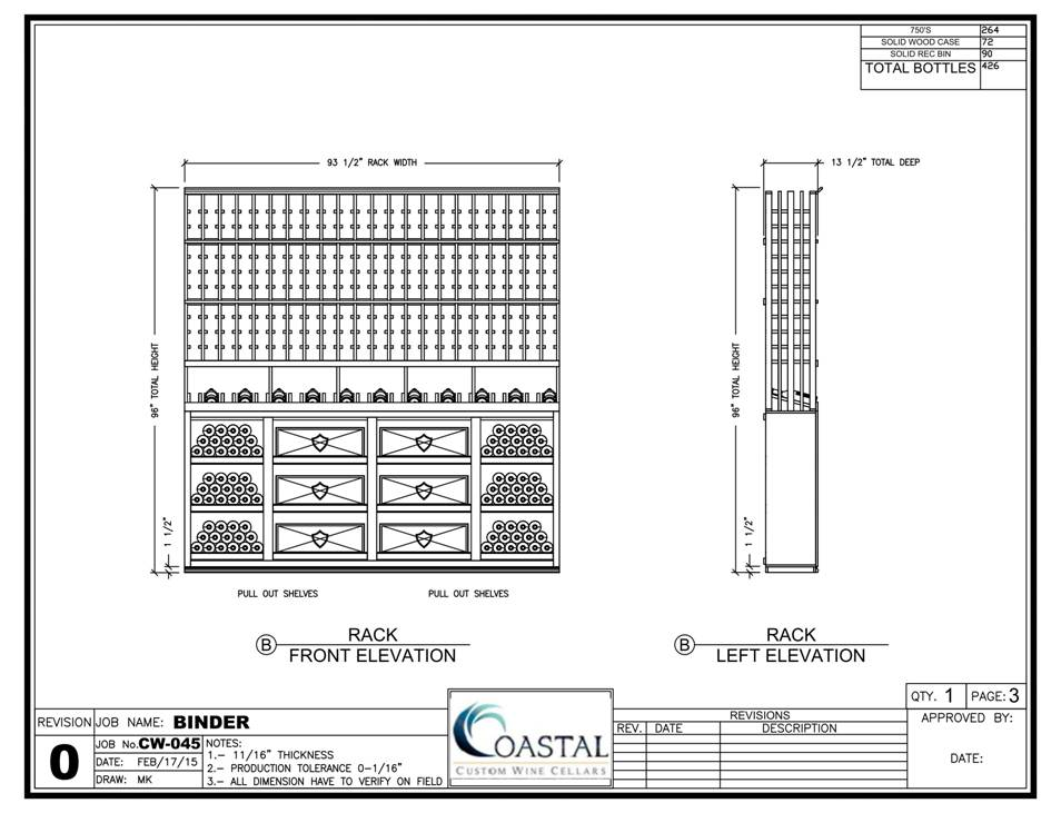 Right Wall Custom Wine Cellar Design Houston