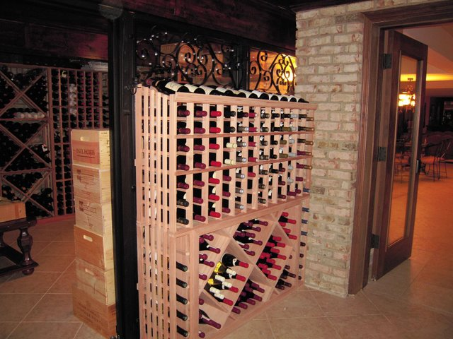 Tastefully Design Custom Wine Racks by Houston Master Builders