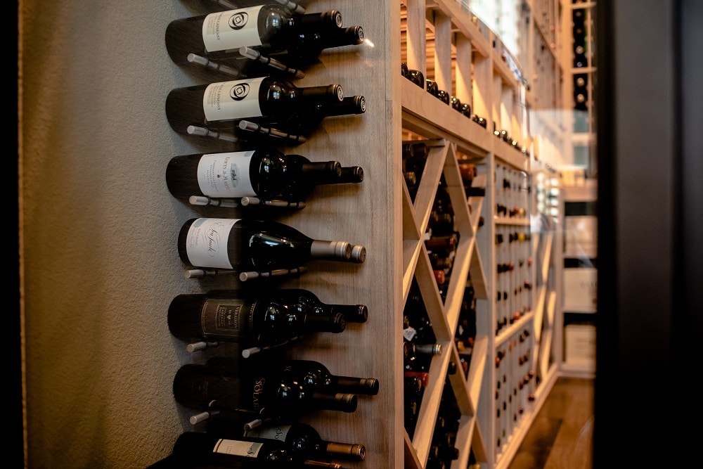 Read about another project with metal wine racks here!
