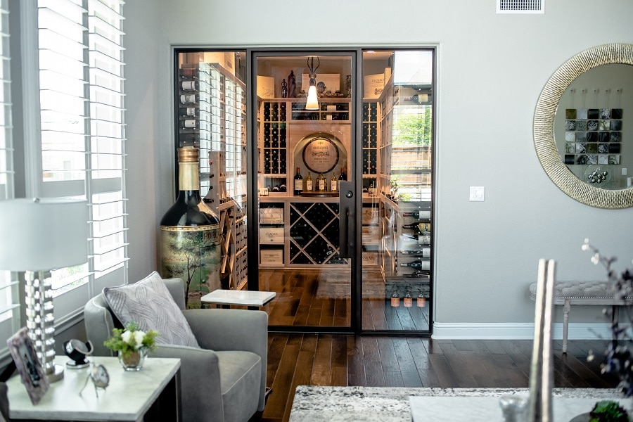 Click here to get your FREE 3D wine cellar design!