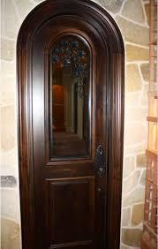 Arched Custom Wine Cellar Door
